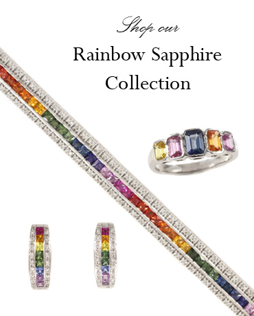 Shop the Rainbow Sapphire Collection