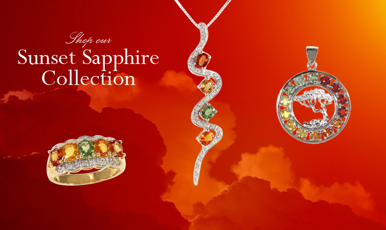 Shop the Sunset Sapphire Collection