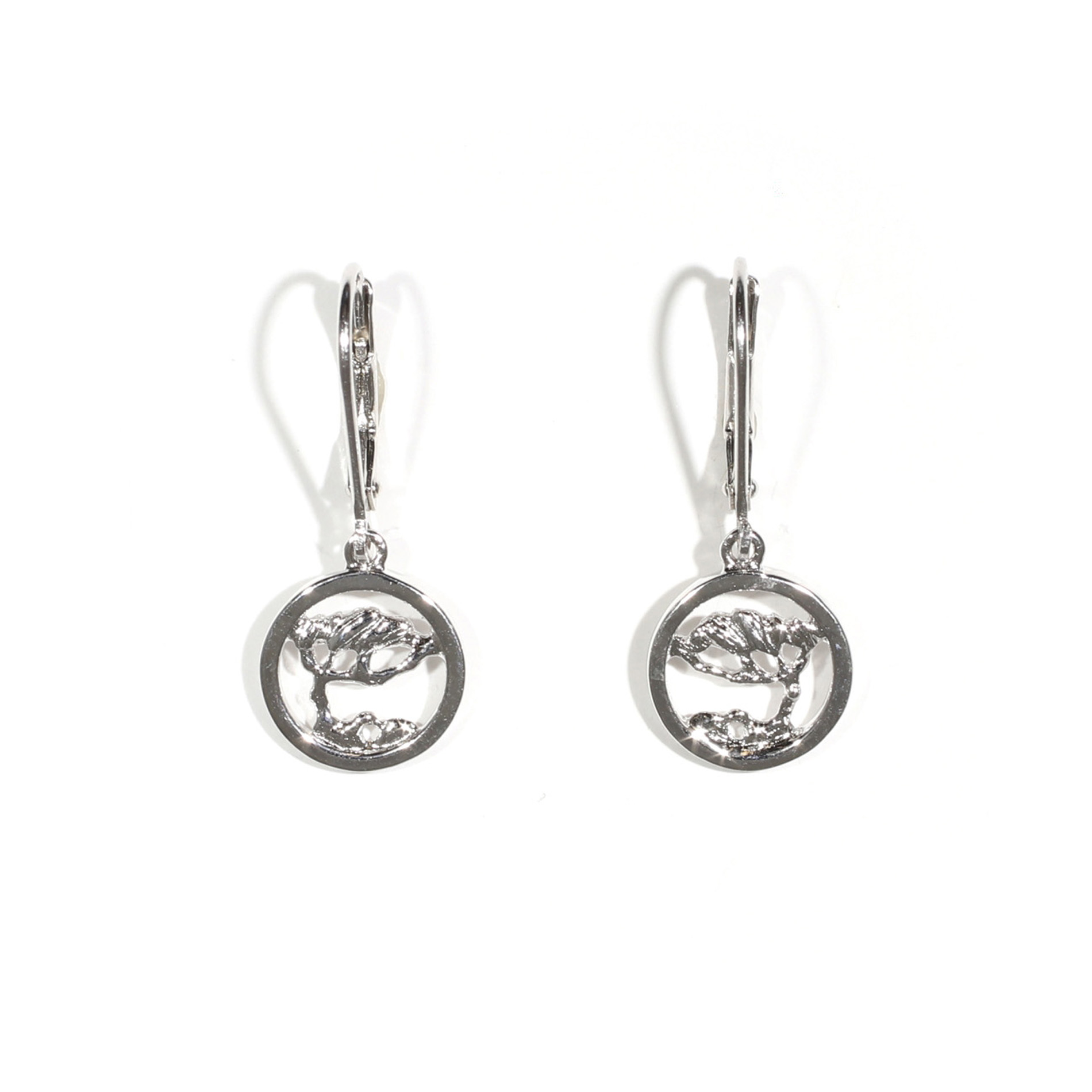 earrings xs lennse twisted circle isabel product