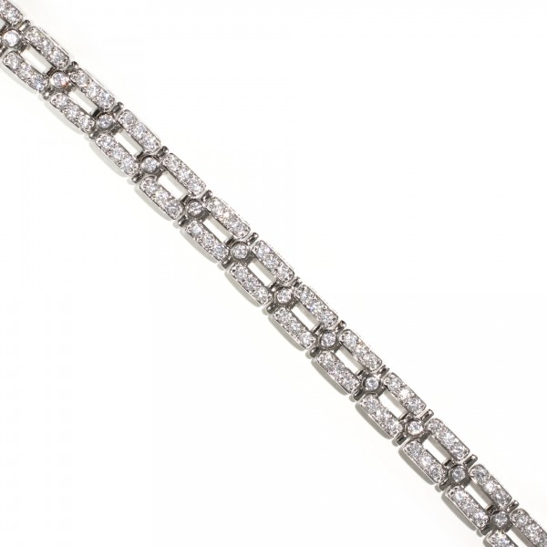 Double Bar Tennis Bracelet 1