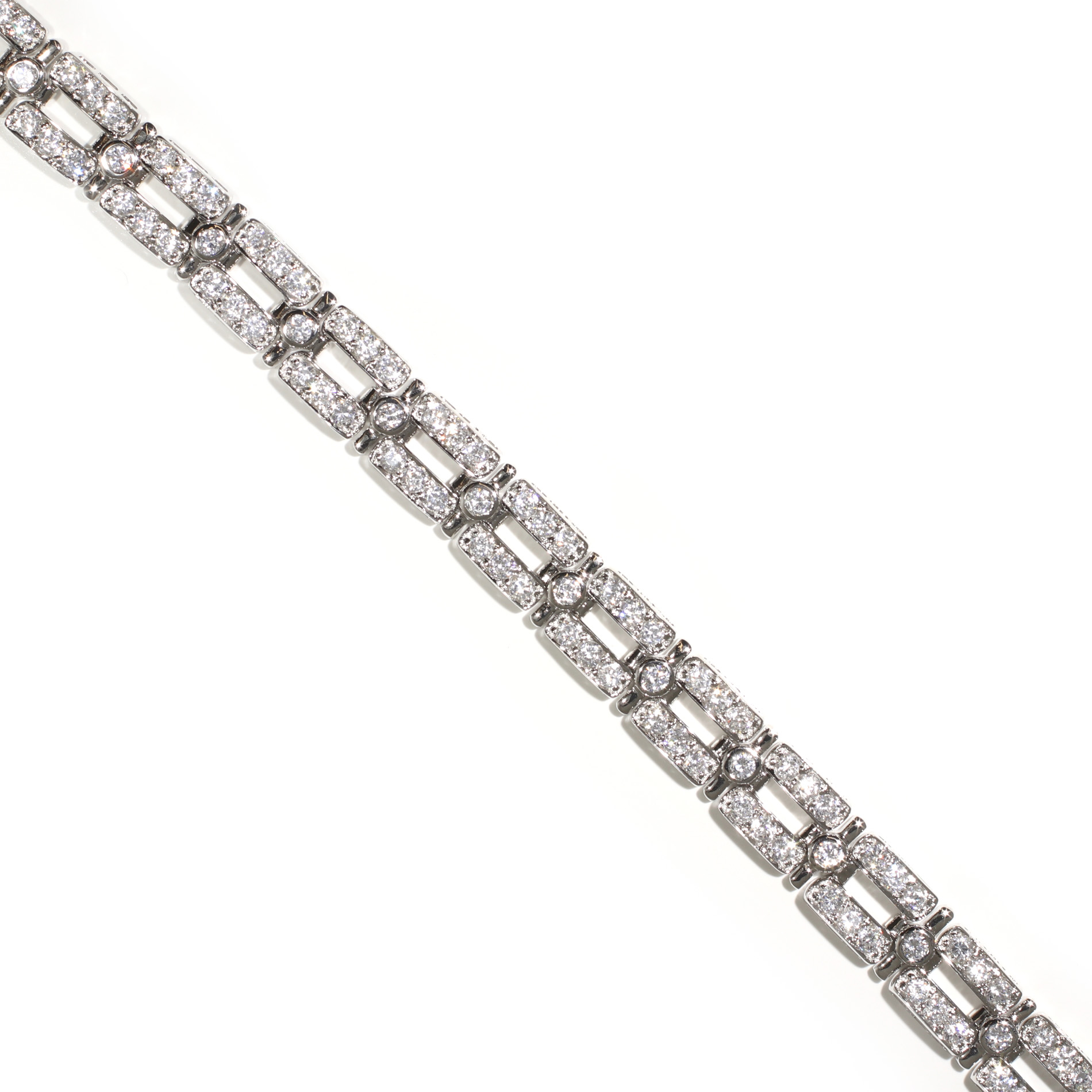 Double Bar Tennis Bracelet