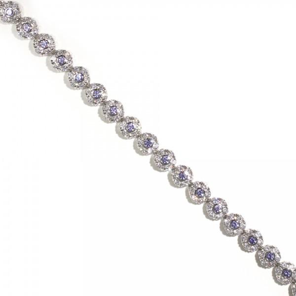 Floral Tanzanite Bracelet 1