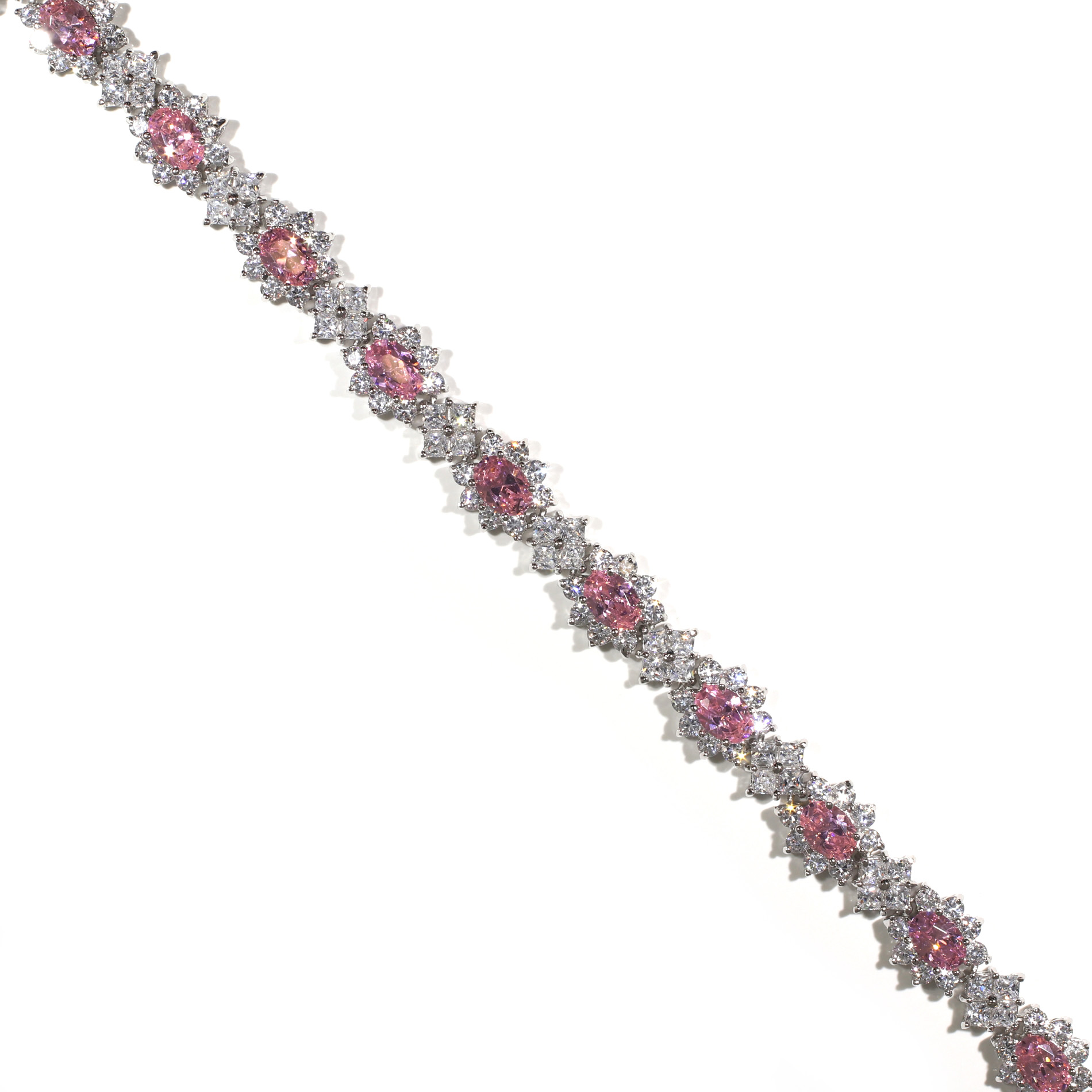 Pink Halo Bracelet