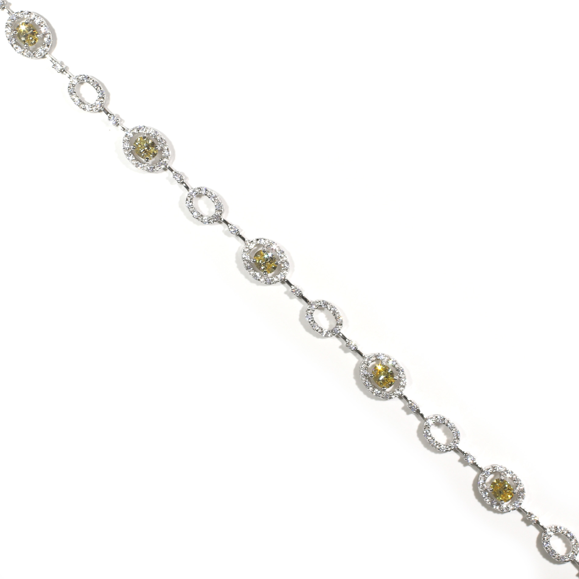 Canary Halo Bracelet