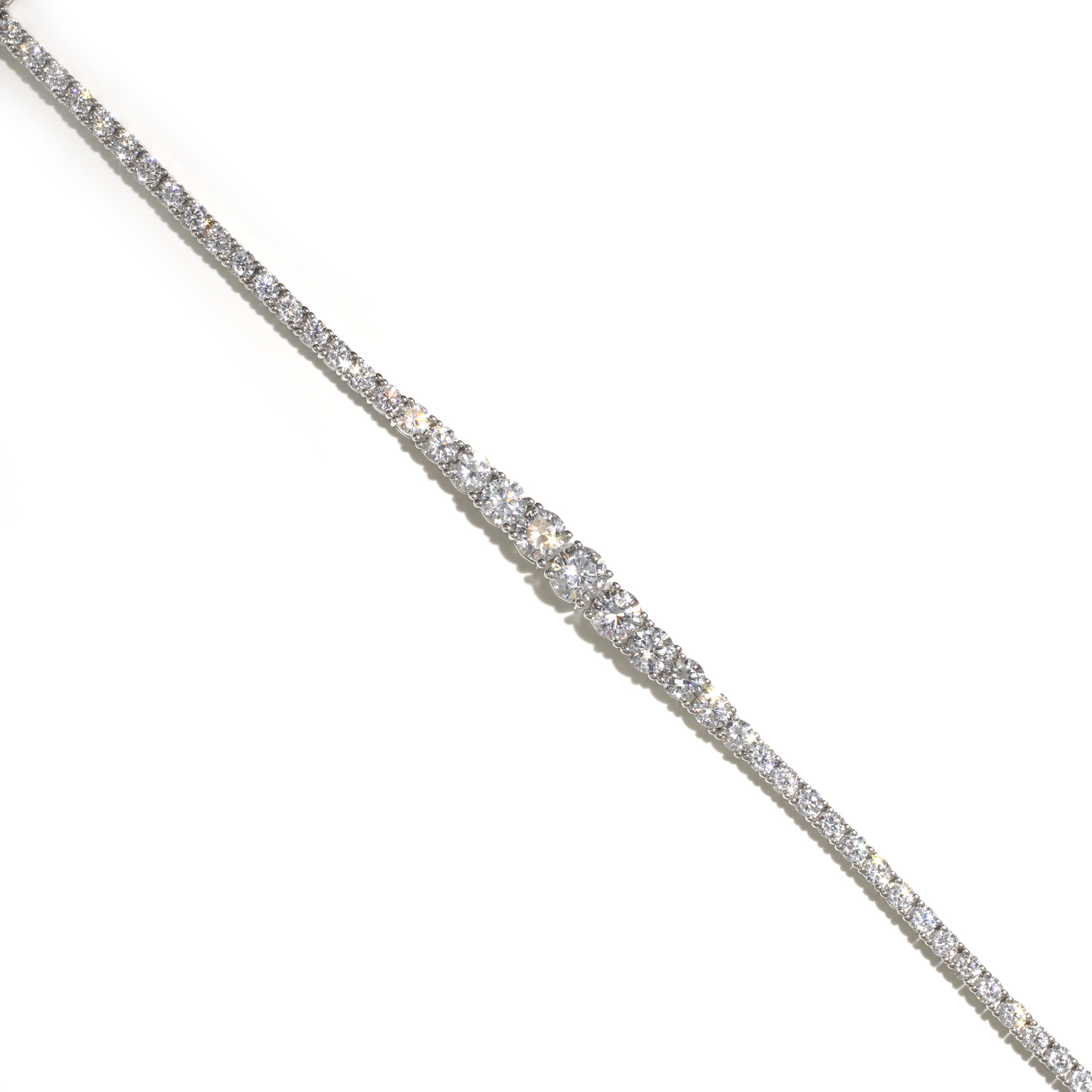 Tapered Tennis Bracelet