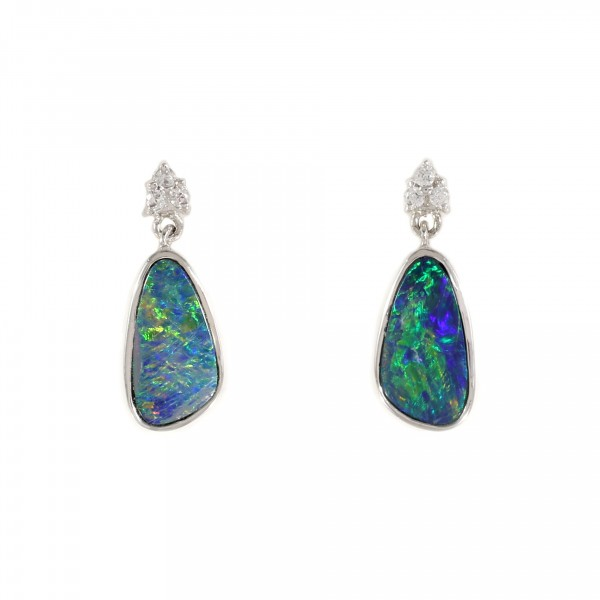 Boulder Opal Drop Earrings 1