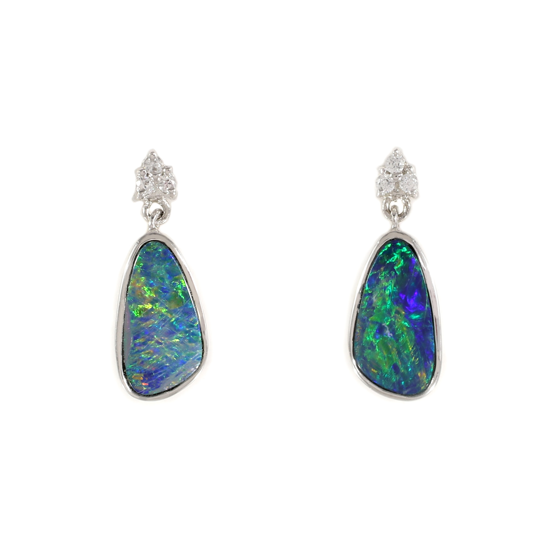 Boulder Opal Drop Earrings