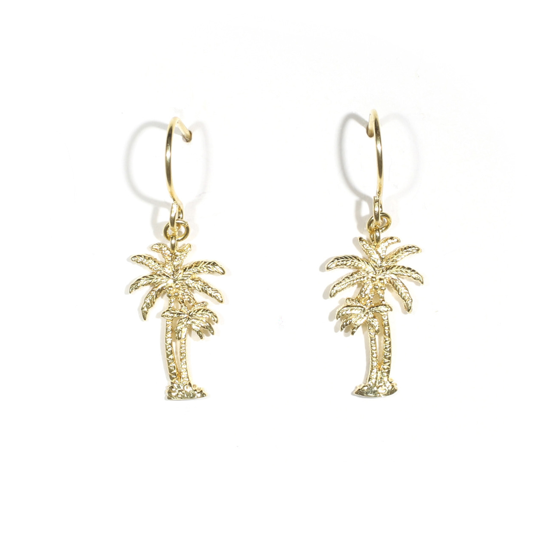 Mom And Baby Palm Tree Earrings 1