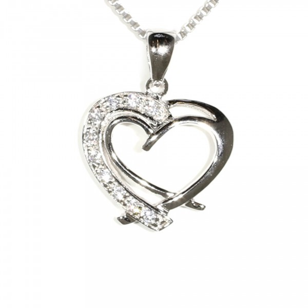 Heart Within A Heart Pendant 1