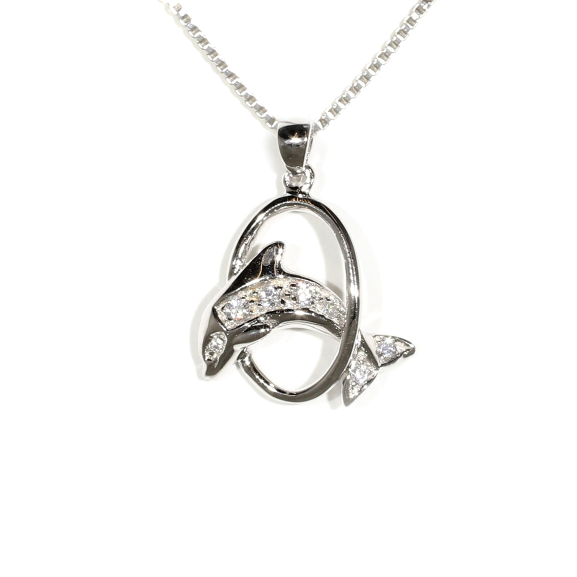 Jumping Dolphin Pendant