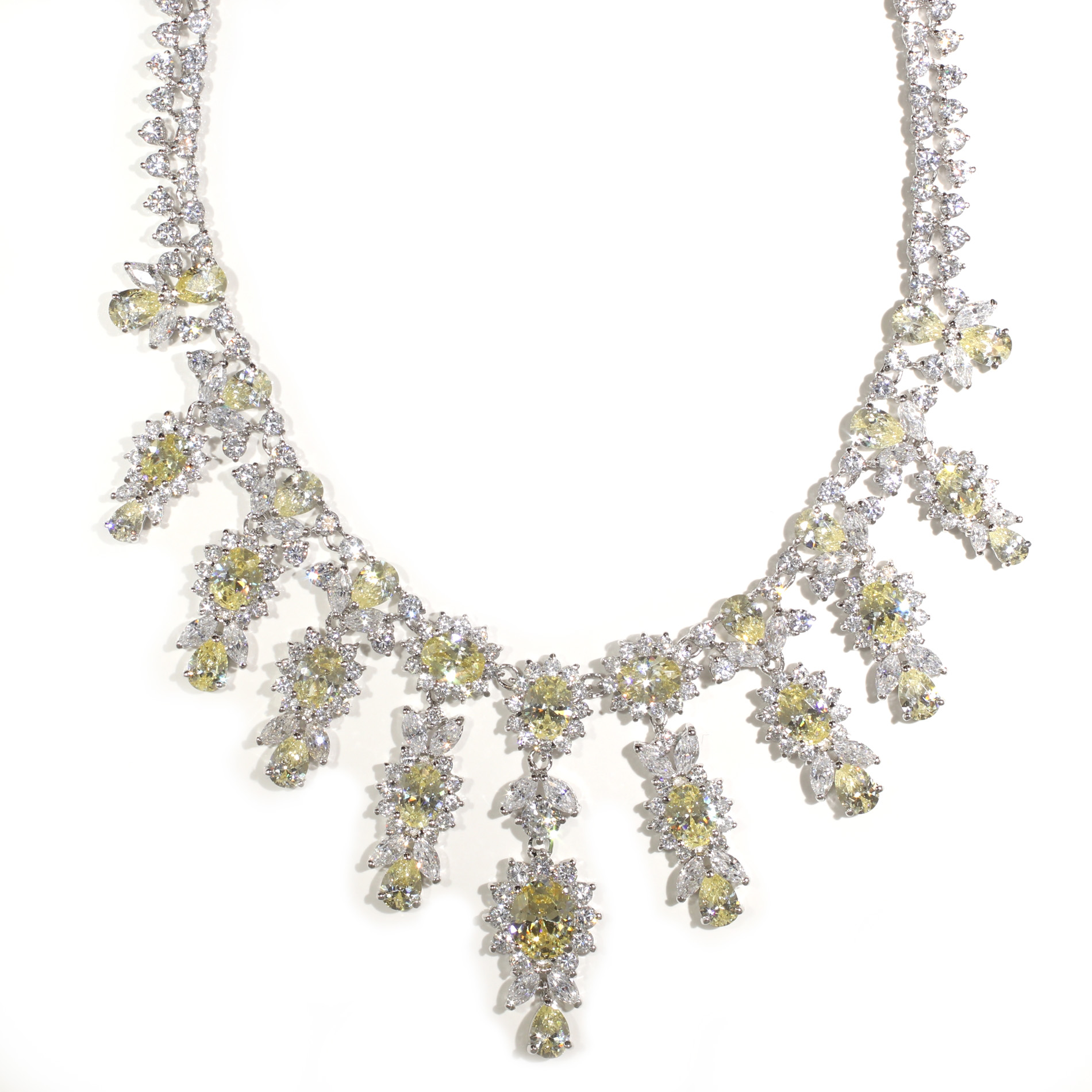 Canary Chandelier Necklace