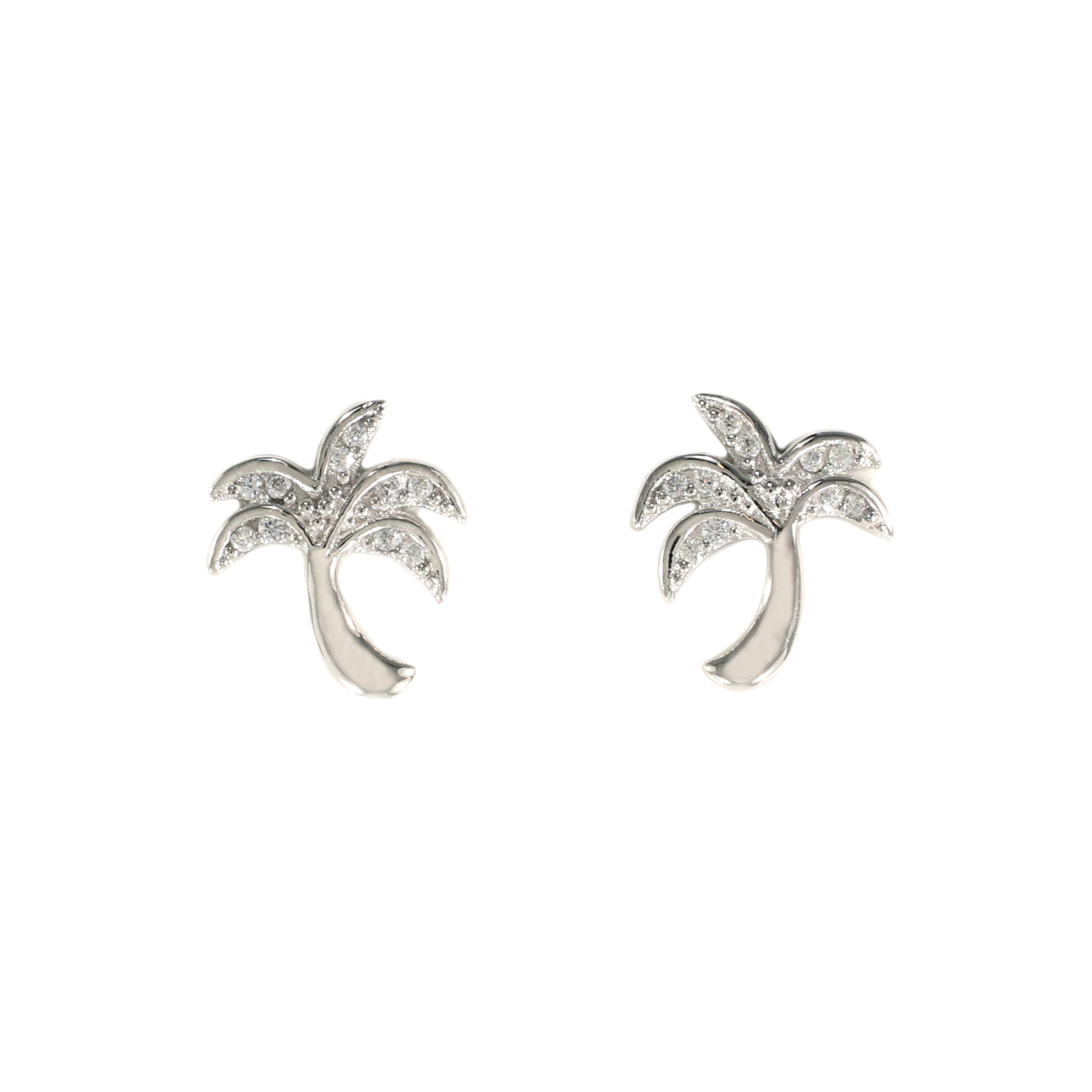 Tiny Palm Tree Earrings