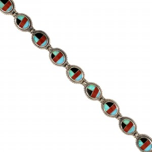 Southwest Inlay Style Bracelet
