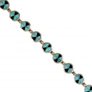 Southwest Style Sterling Silver Bracelet