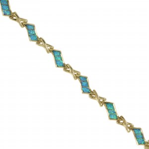 Vermeil Opal Bracelet